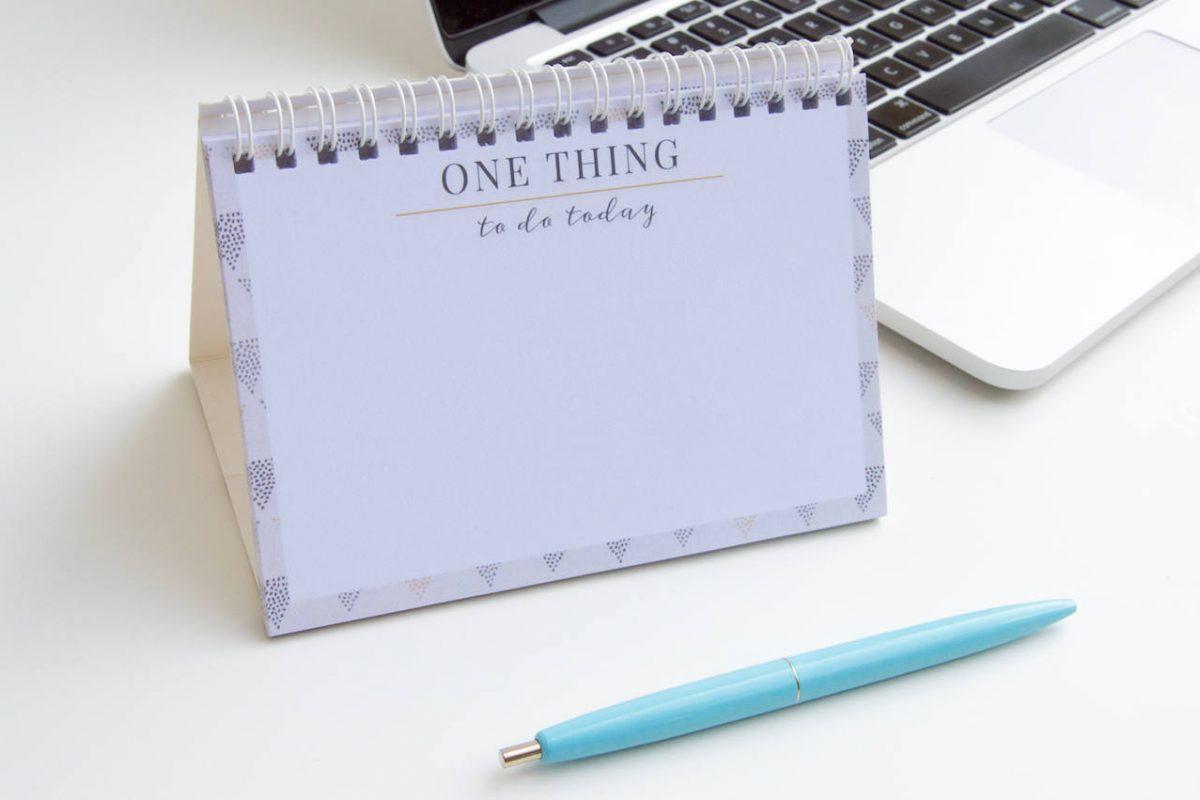 planer jednej rzeczy