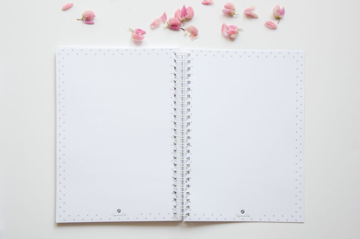 zeszyt planer dzienny notatki a5
