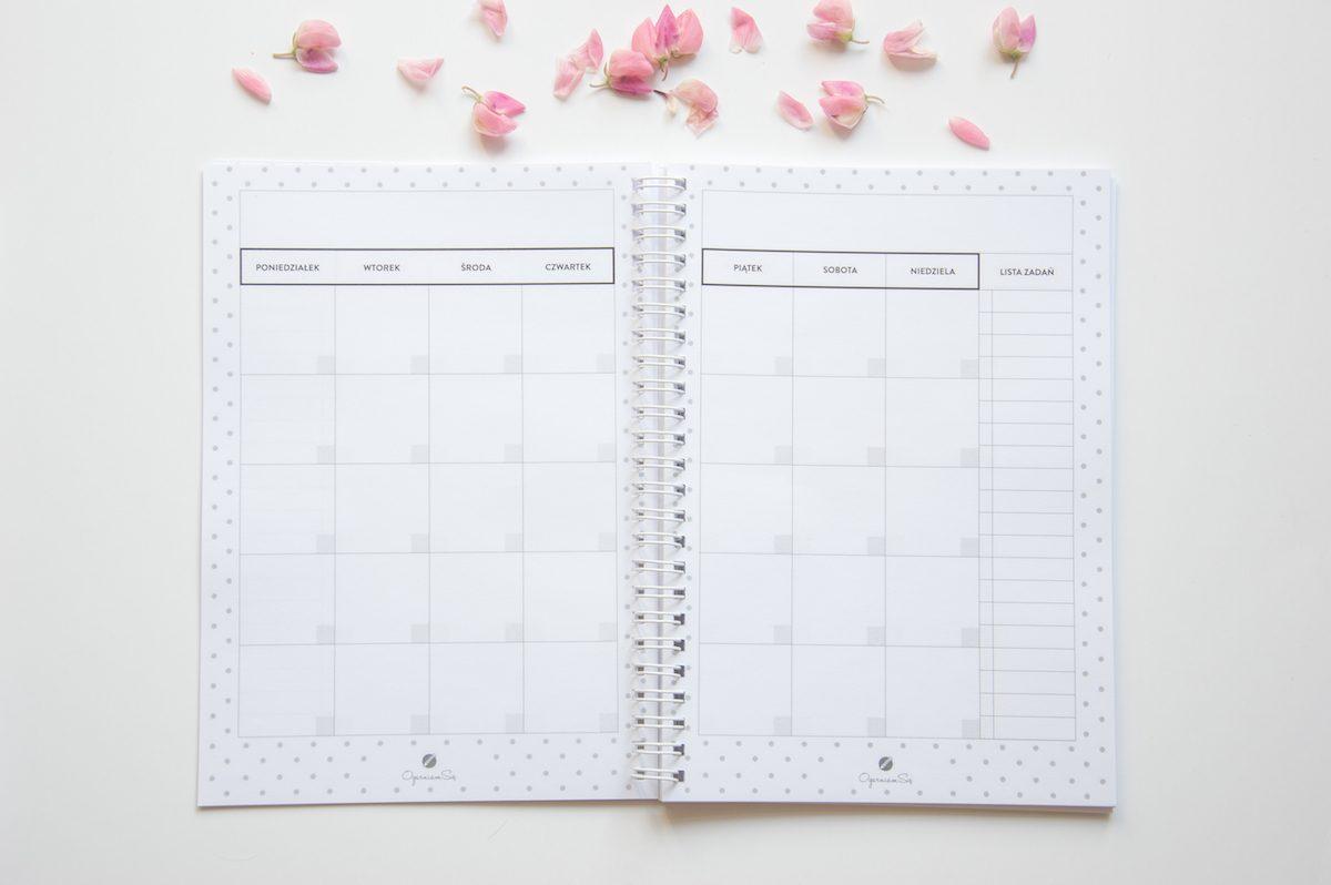zeszyt planer miesięczny a5