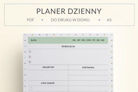 OgarniamSie PlanerDziennyWdziecznosci main 450x300 - Planer wdzięczności do wydrukowania