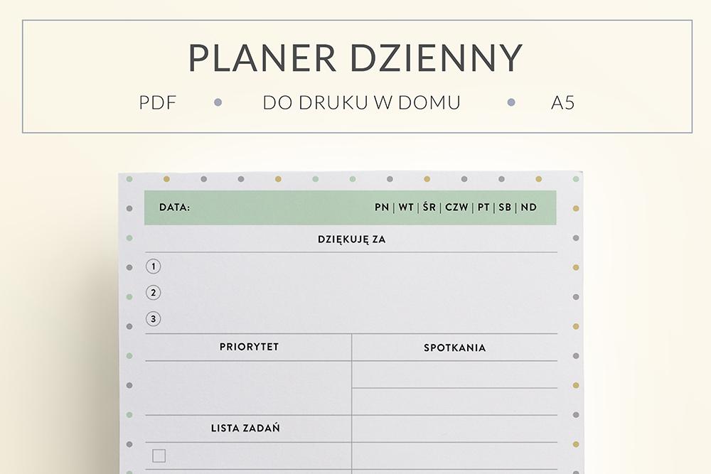 OgarniamSie PlanerDziennyWdziecznosci main - Planer wdzięczności do wydrukowania