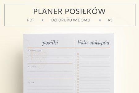 OgarniamSie PlanerPosilkow main 450x300 - Planer posiłków na cały tydzień i lista zakupów do druku