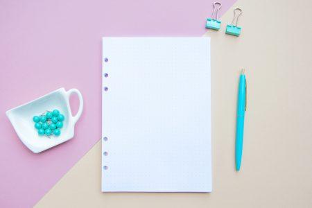 wkład do organizera bullet journal w kropki a5 bujo