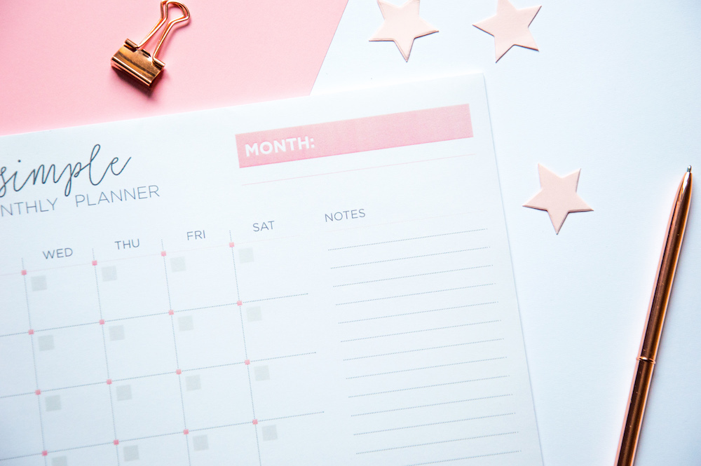 plan miesiąca keep it simple