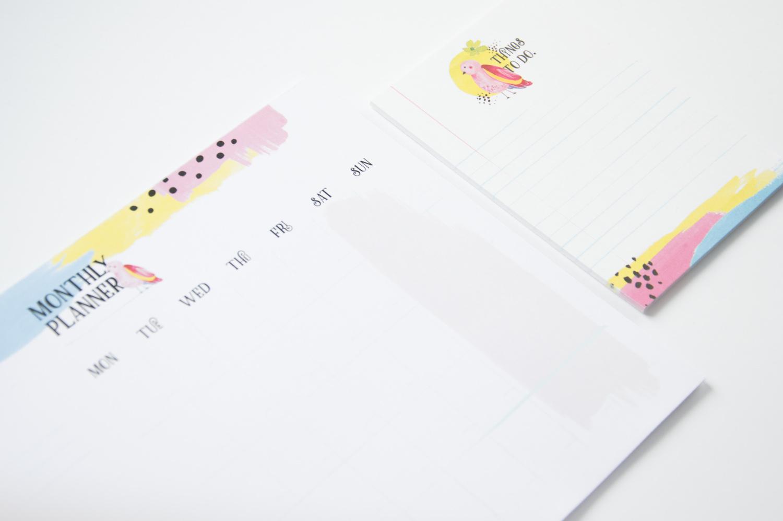 planer miesiąca i lista zadań