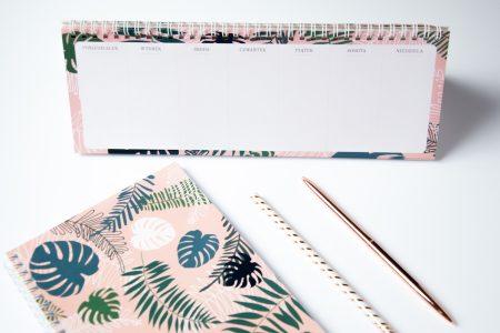 pomysł na prezent bullet journal zeszyt w kropki planer tygodniowy