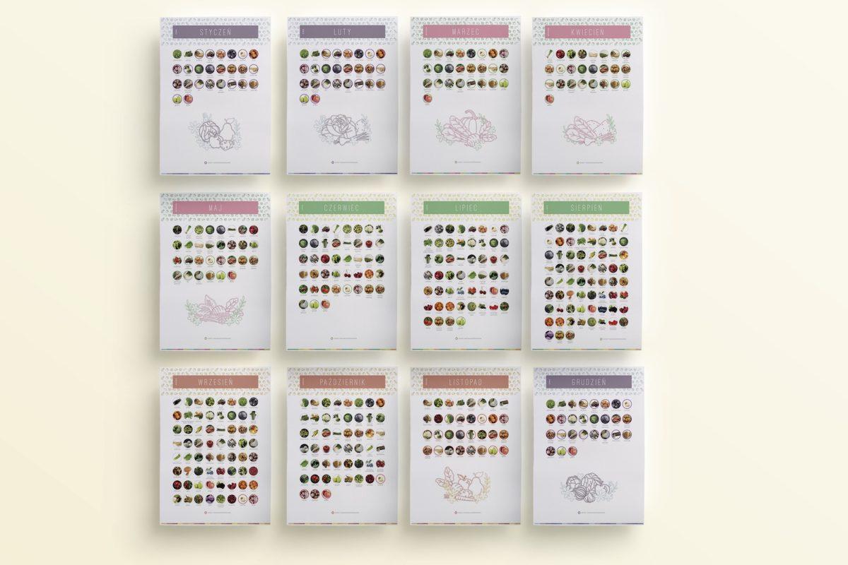 OgarniamSie KalendarzeWarzywOwocowSezonowych do druku 2 1200x800 - Kalendarz warzyw i owoców sezonowych do druku   Format A4