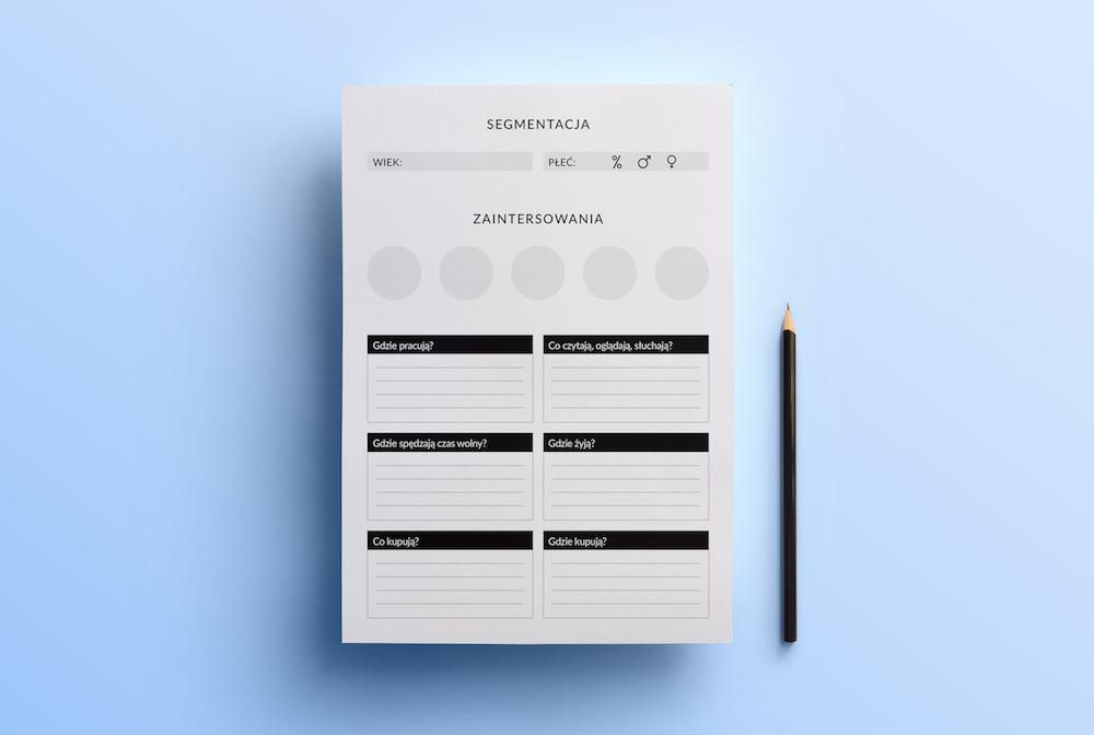 biznes planer do druku pdf segmentacja