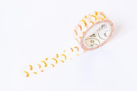 washi tape pomarańczowa