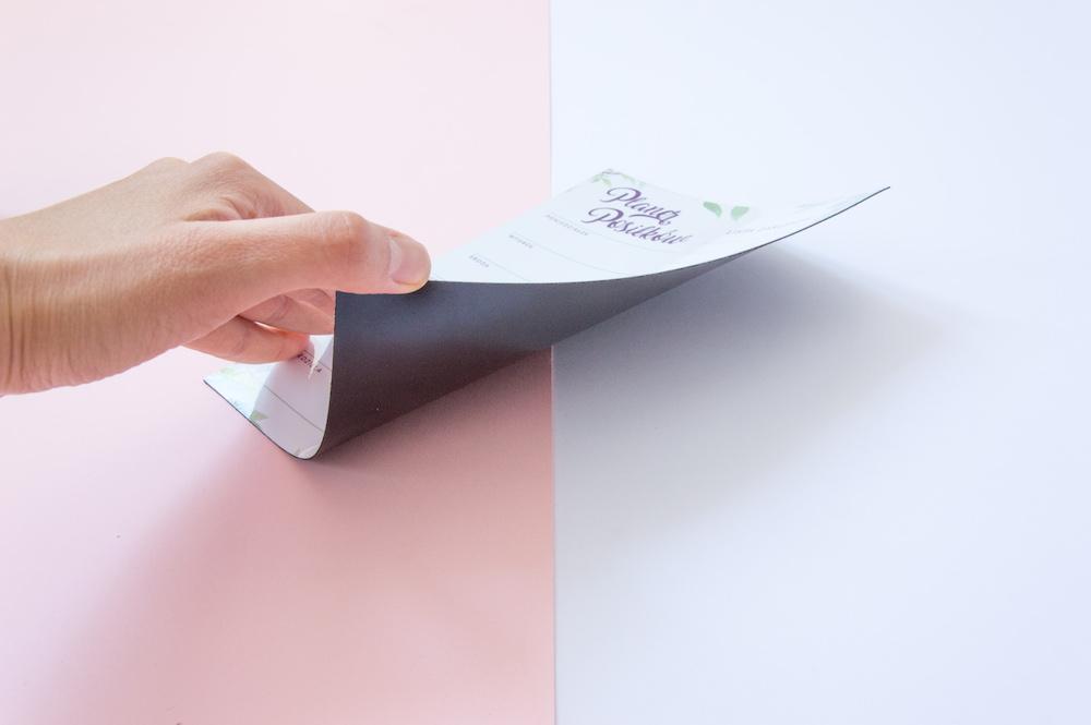 planer posiłków lista zakupów na tydzień na lodówkę magnetyczny