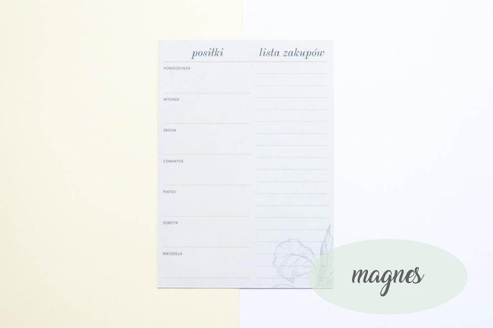 planer posilkow magnes 1 - Organizacja kuchni
