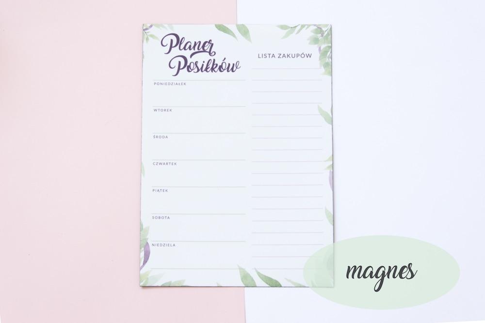 planer posilkow magnes2 - Organizacja kuchni