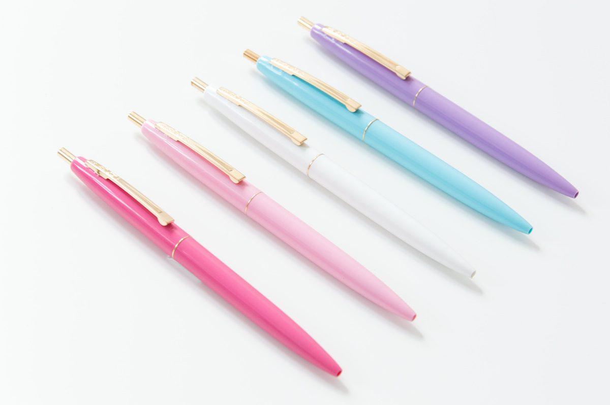 długopisy bic clic gold