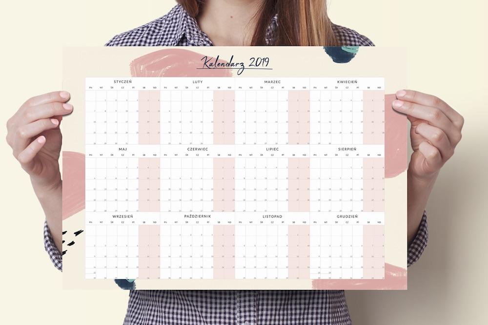 plakat kalendarz 2019