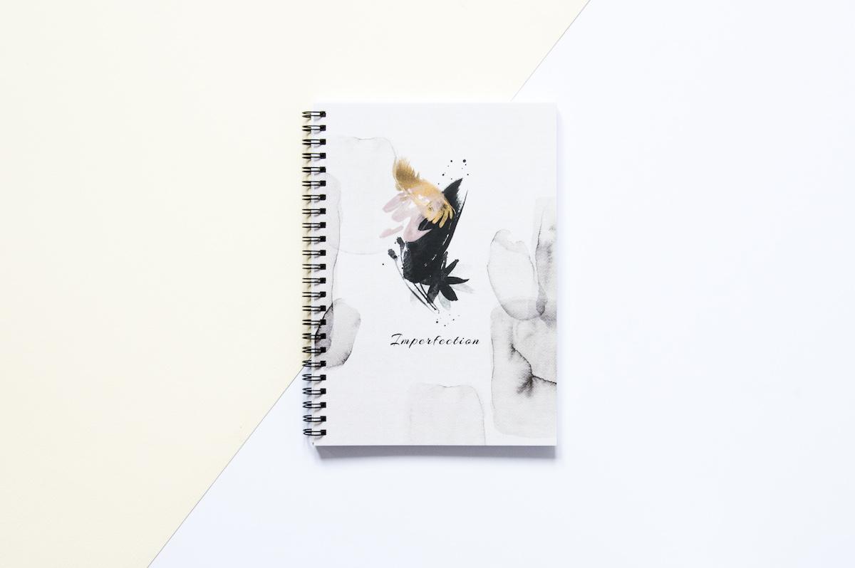 bullet journal zeszyt w kropki imperfection
