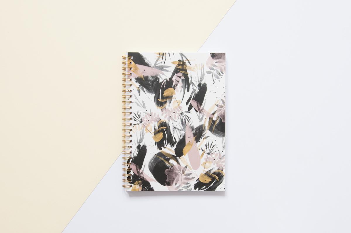 bullet journal zeszyt wabi sabi