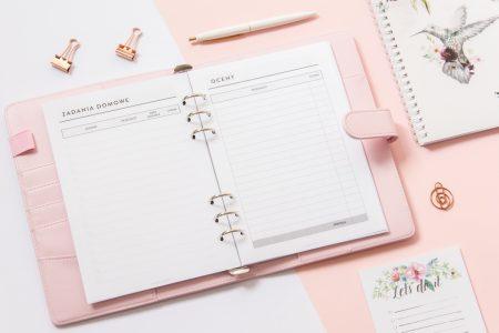 wkład do organizera planer ucznia