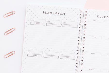 planer ucznia, kalendarz ucznia