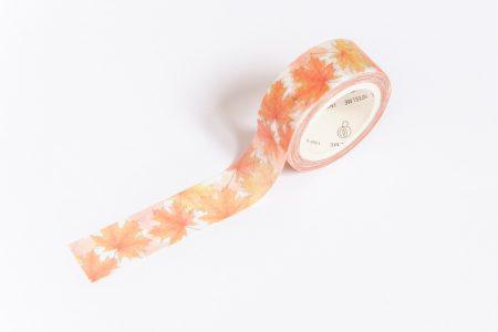 Taśma dekoracyjna, Washi Tape jesienne liście