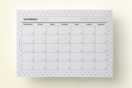 wklad organizer planer miesieczny 450x300 - Wkład do organizera | Planer miesięczny bez dat