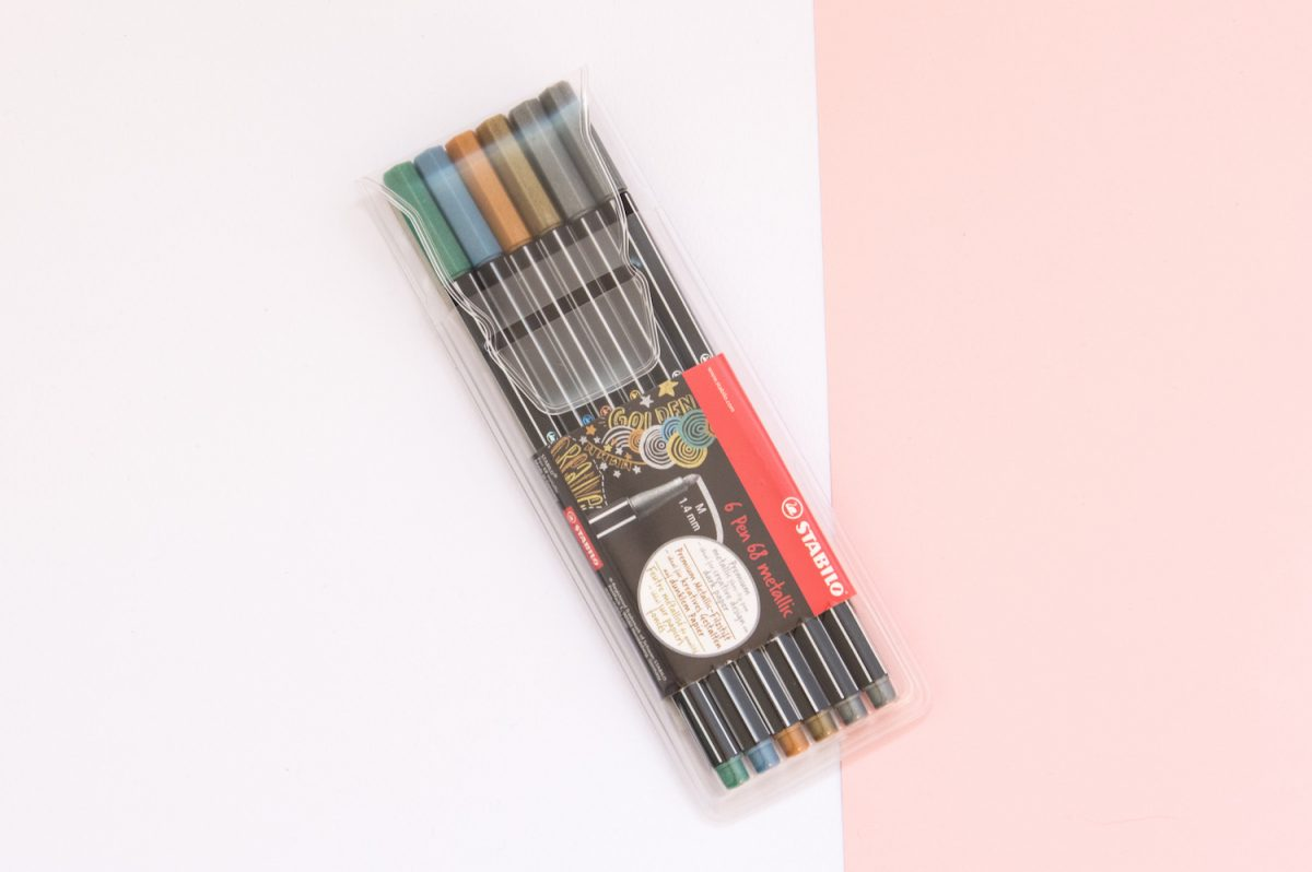 flamastry metaliczne STABILO Pen 68 metallic