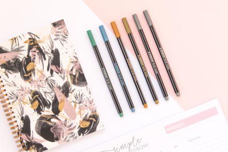 długopisy stabilo pen 68 metallic