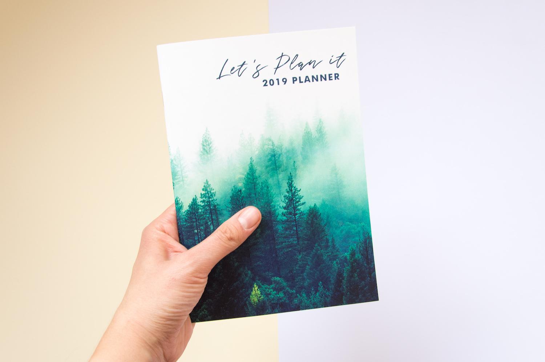 kalendarz 2019 zeszyt notes