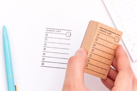 pieczatka check list1 450x300 - Pieczątka do planerów i bullet journal | Listy zadań, symbole, plany