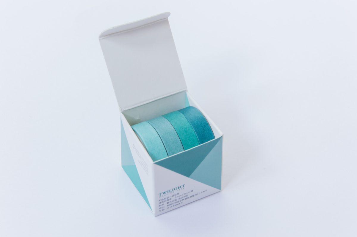 taśmy washi tape zestaw błękit