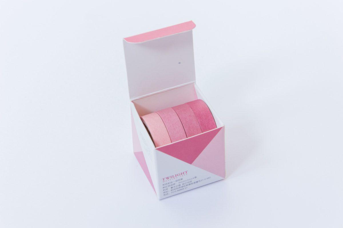 taśmy washi tape zestaw różowy