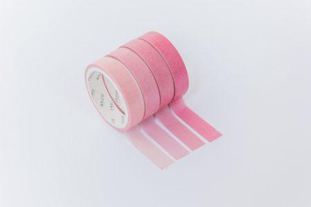 taśmy washi tape zestaw róż