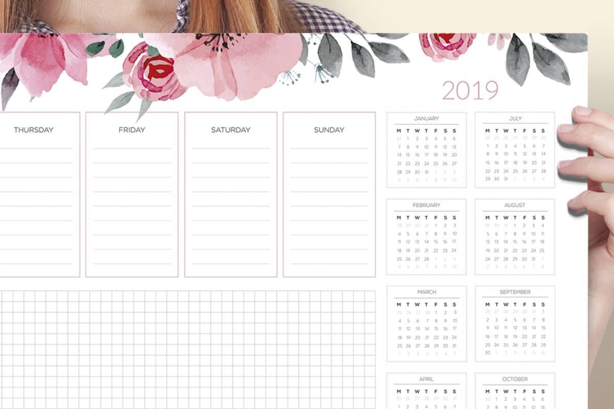 Podkładka na biurko 2019