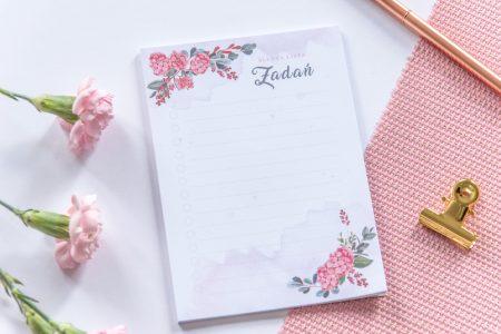 lista zadań ślubna notes