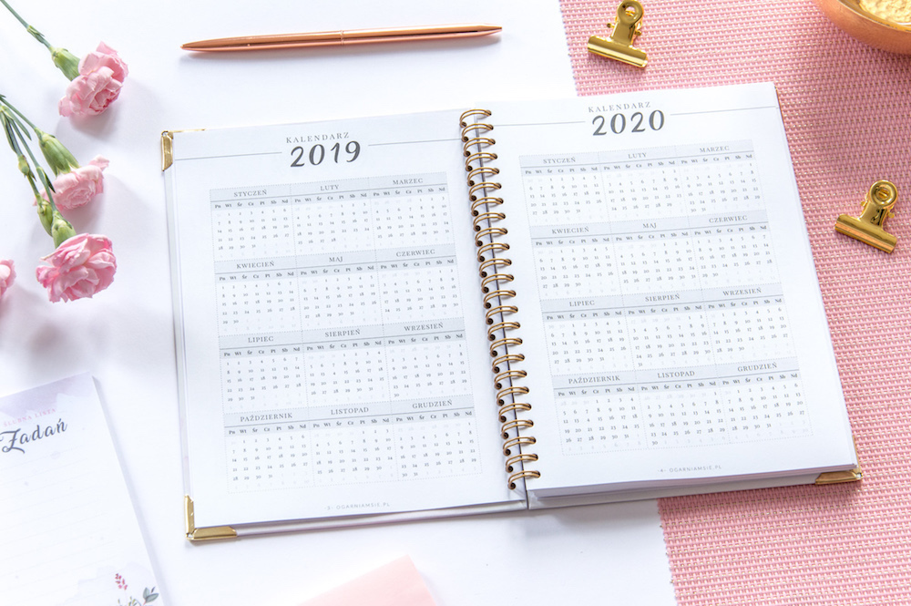 Planner ślubny 2019