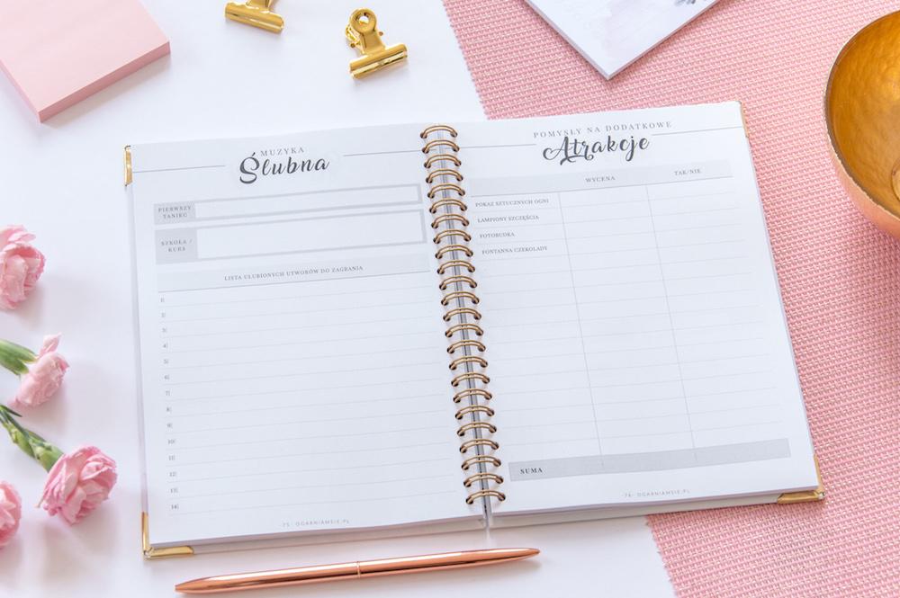 Planer ślubny - planowanie ślubu