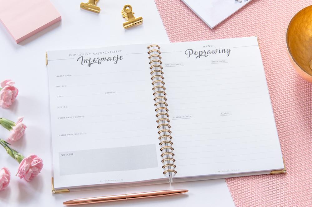 Planner ślubny - organizacja wesela