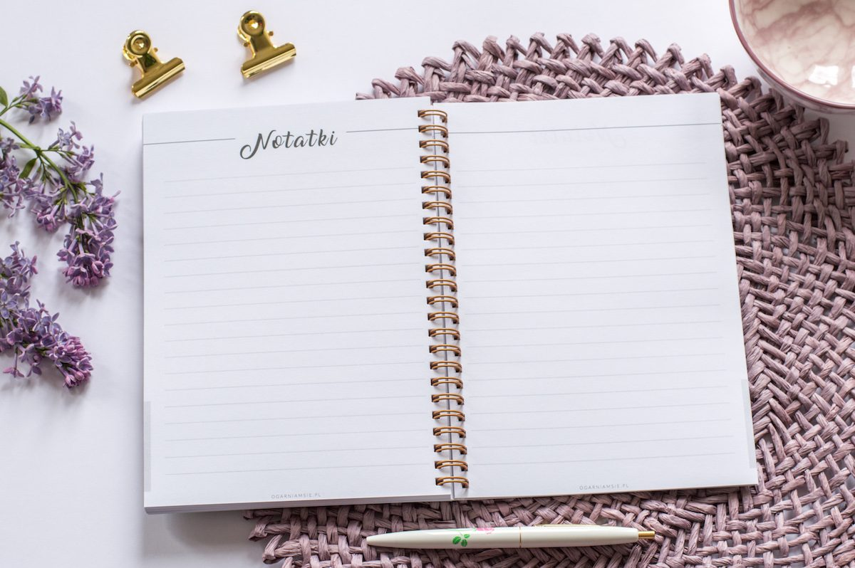 notatnik ślubny