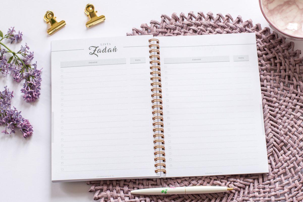 personalizowany planer ślubny lista zadań