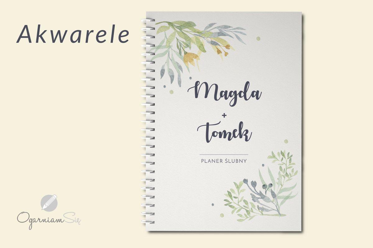 personalizowany kalendarz ślubny