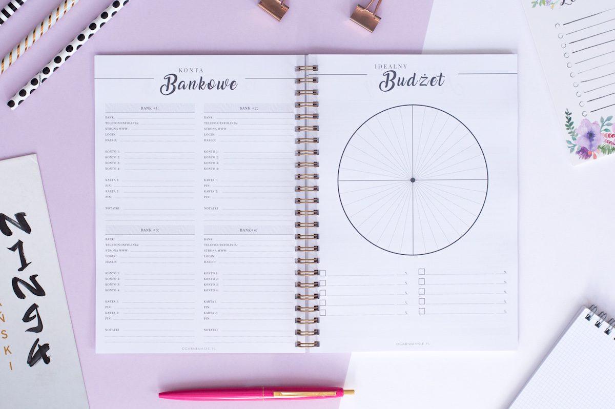 planer budżetu domowego