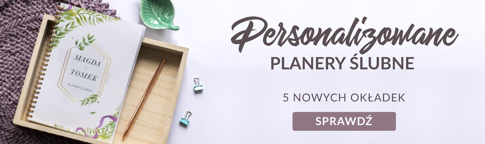 personalizowany planner ślubny