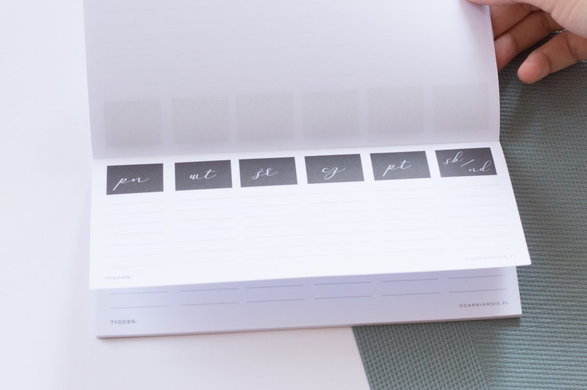 planer lista zadań DL