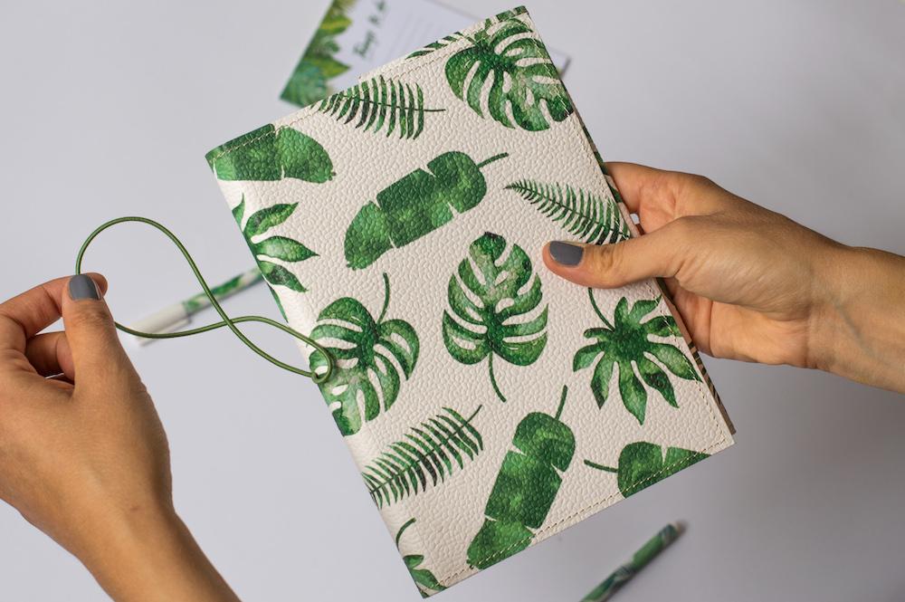 bullet journal tropikalny