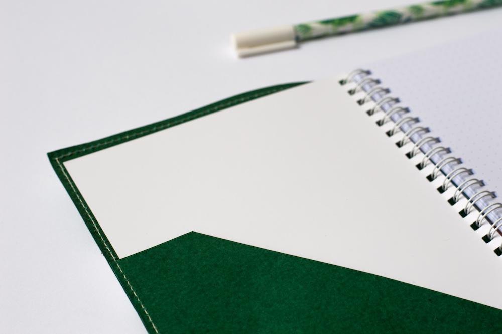 bullet journal z wymiennym wkładem