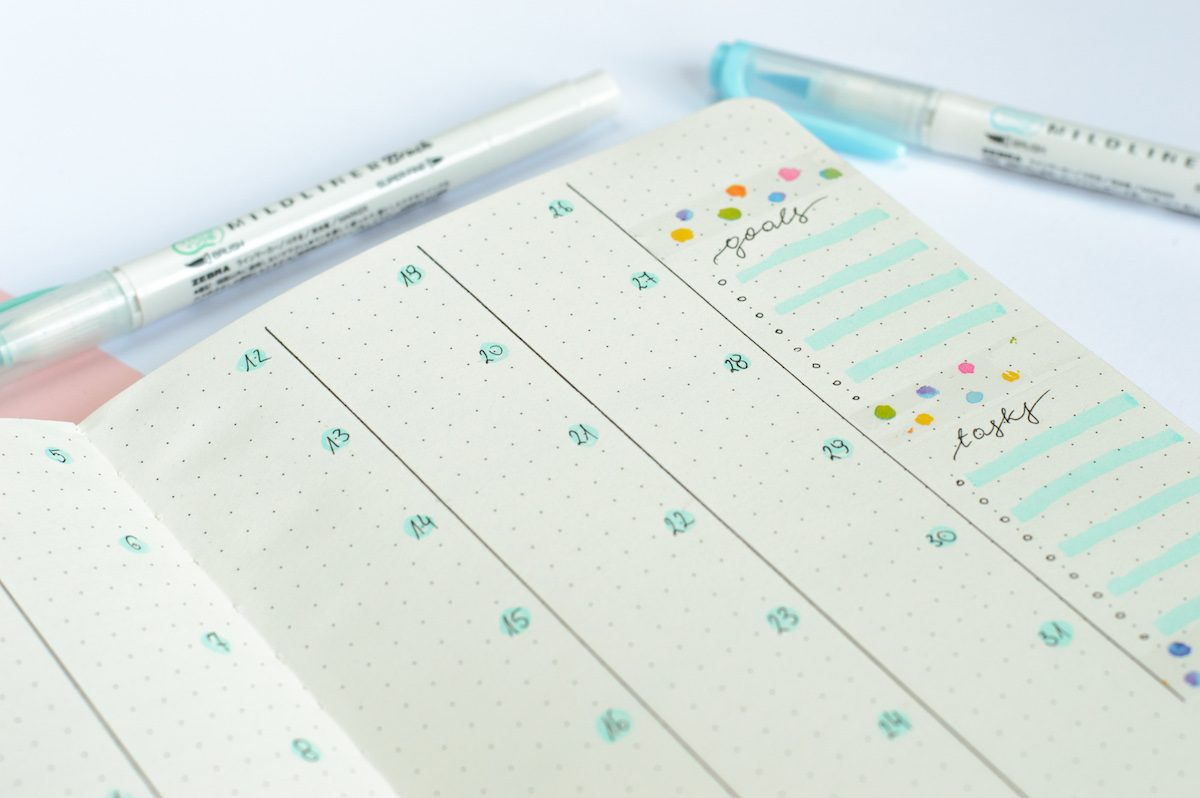 notes do bullet journal