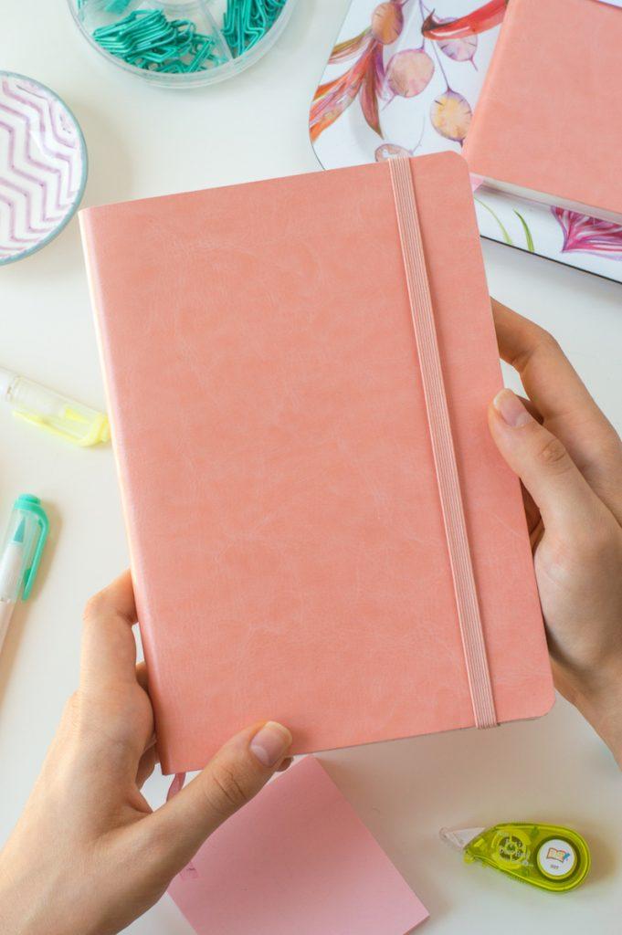 coral journal - zeszyt do bullet journal