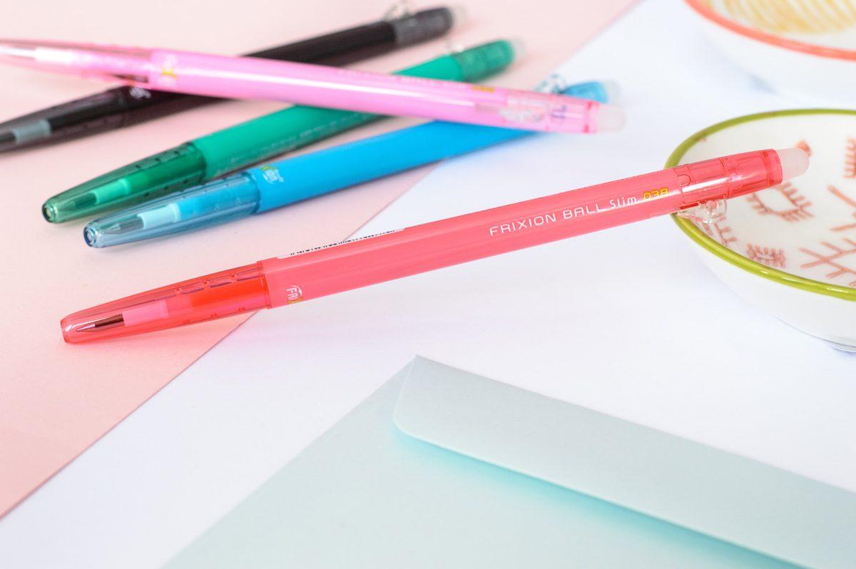 cienki długopis zmazywalny Pilot Frixion