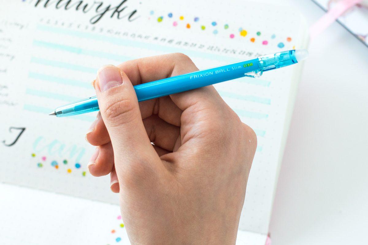 Długopis zmazywalny Pilot Frixion niebieski