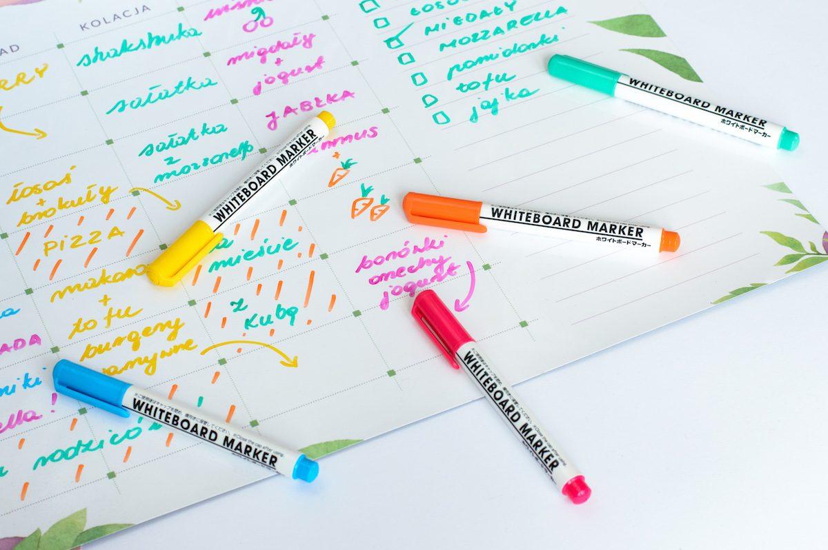 pastelowy marker do tablic suchościeralnych