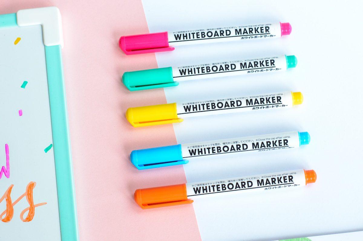 markery do tablic suchościeralnych - zestaw pastelowe